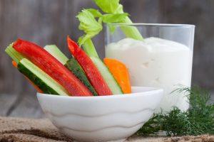 Aliments Crossfit légumes crus