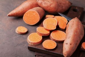 Aliments Crossfit patate douce