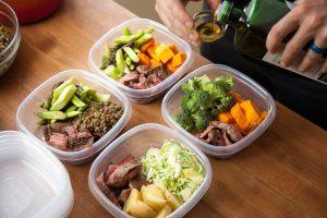 Nutrition Crossfit préparer repas